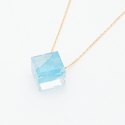 Necklace-blue